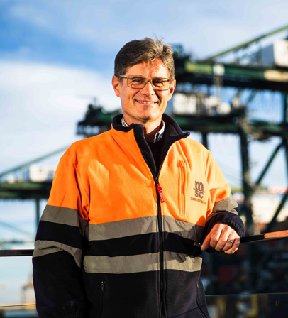 Javier Andrés, Maintenance Director at MSC Terminal Valencia